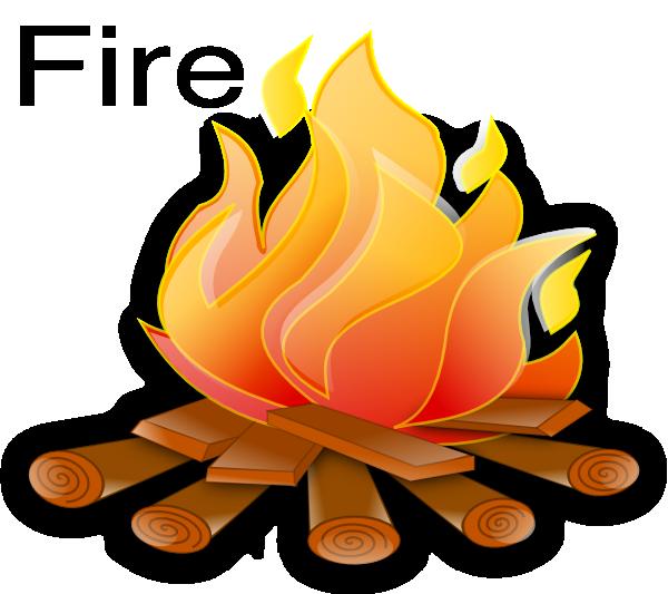 Unsafe Fire Clipart.