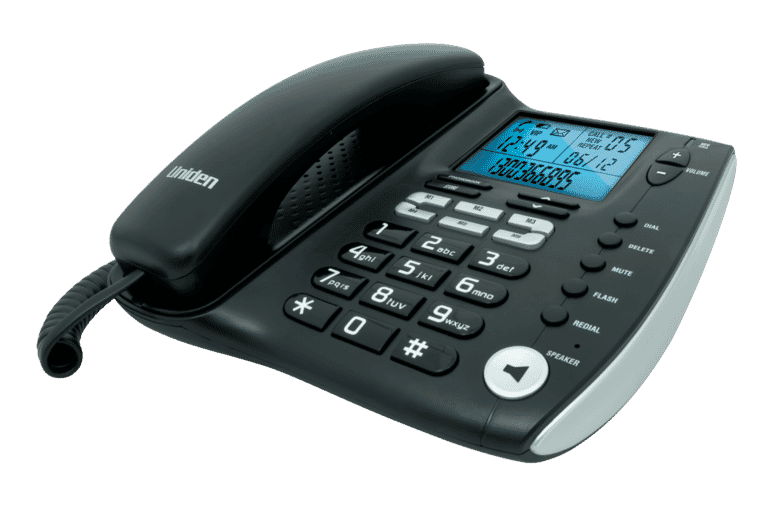 Uniden FP1200 Corded Phone at The Good Guys.