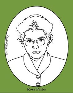 John Brown Clip Art, Coloring Page or Mini Poster.
