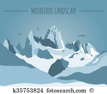 Cordillera Clip Art Illustrations. 7 cordillera clipart EPS vector.