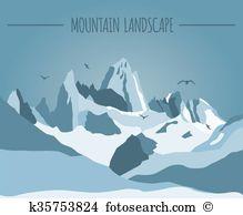 Cordillera Clip Art Illustrations. 7 cordillera clipart EPS vector.