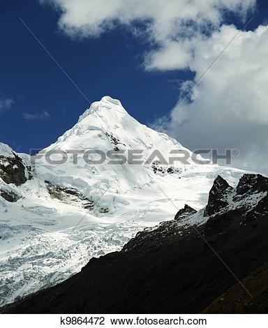 Clip Art of Cordillera mountain k9864472.