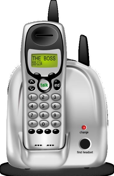 Cordless Phone Clip Art at Clker.com.