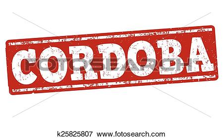 Clip Art of Cordoba stamp k25825807.