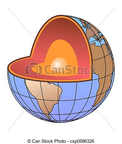Core earth Clipart and Stock Illustrations. 468 Core earth vector.