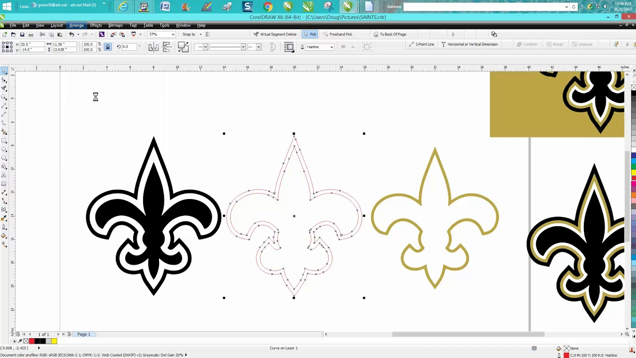 Corel Draw Tips & Tricks Clipart trace start with BETTER Clipart.