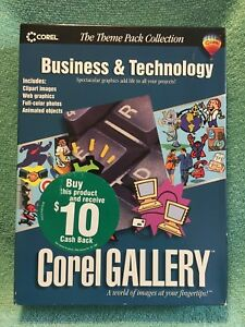 Details about Corel Gallery Business & Technology PC CD clip art, web  graphics and more (New).