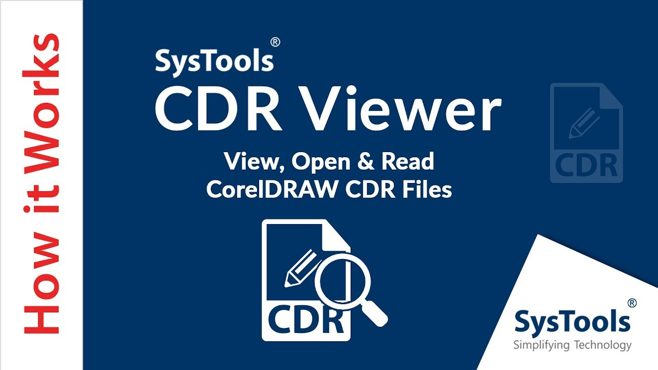 SysTools CDR Viewer.