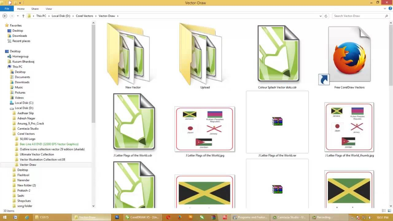 CorelDraw (CDR) file Preview Missing in Windows Explorer (w/ English Sub).