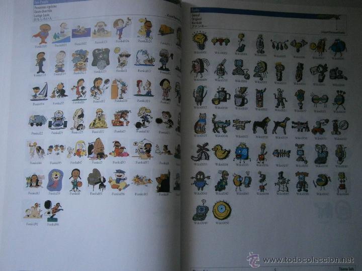 Coreldraw 9 libraries catalogue manual clipart.