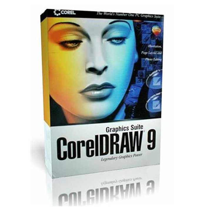 Corel Draw 9 Graphics Suite Full Version per PC.