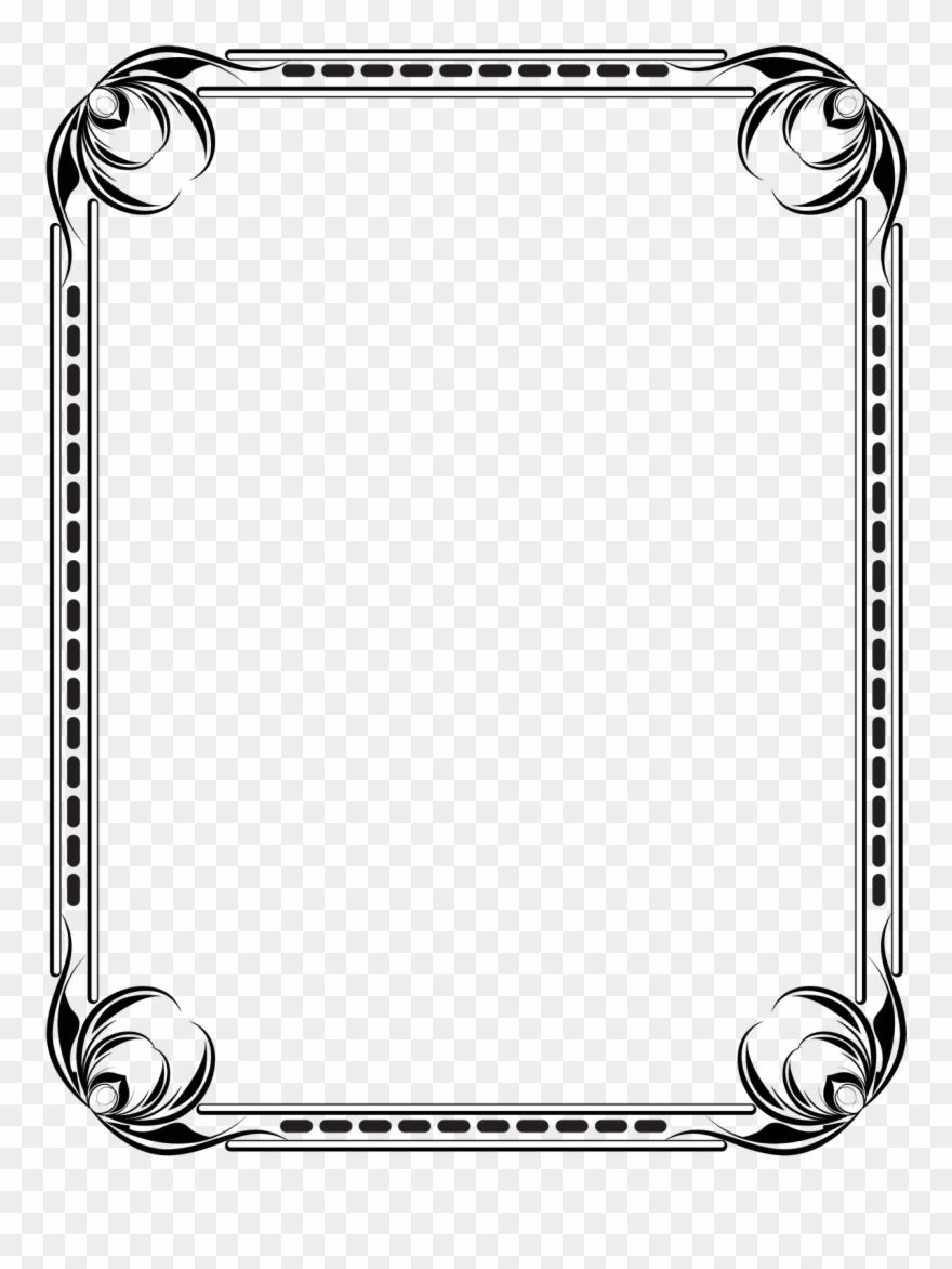 Free Draw Download Border Templates Corel Designs Gallery.