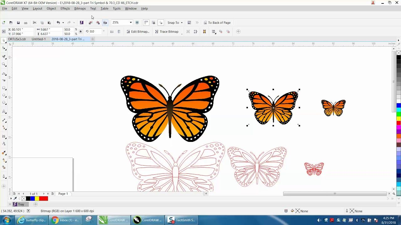 Corel Draw Tips & Tricks Reduce Clipart before you Trace.