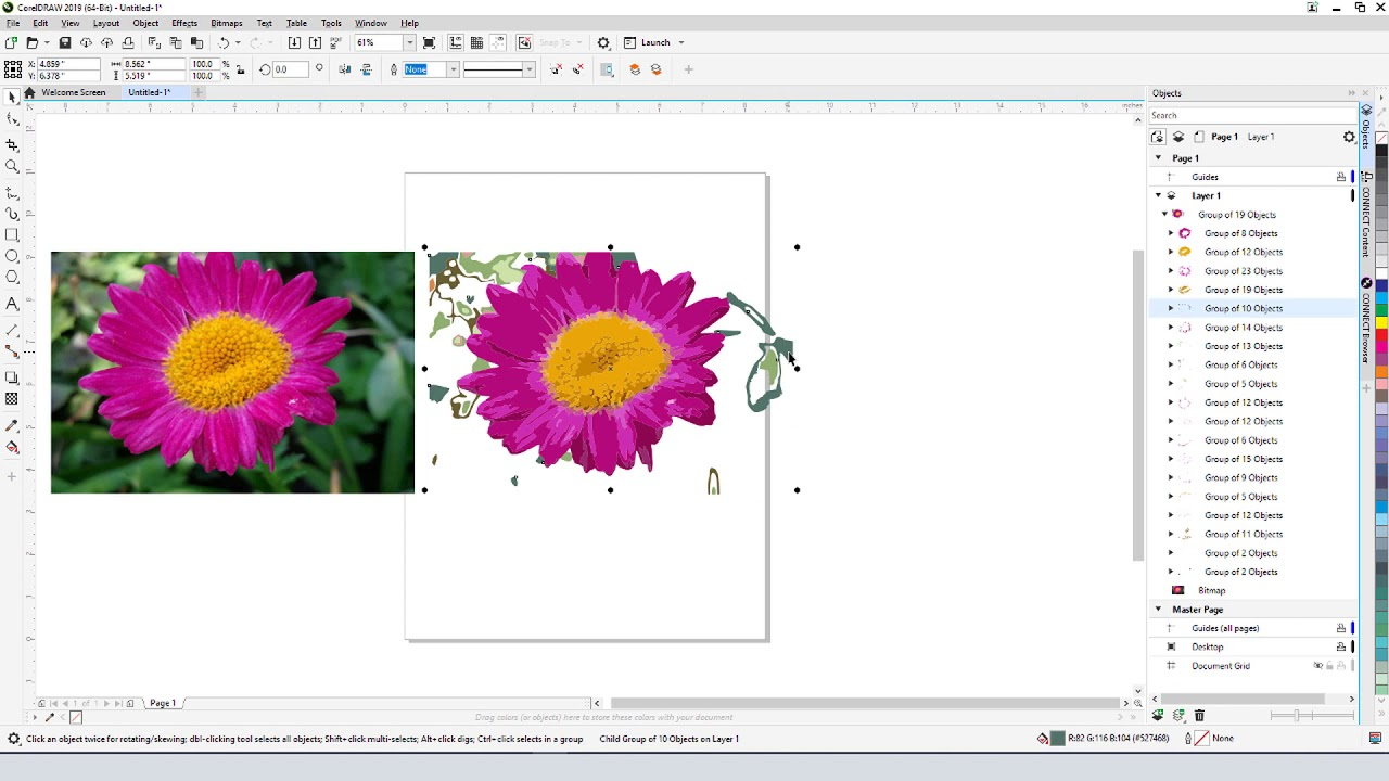 How to Make Clipart from a Photo with CorelDRAW (PC).