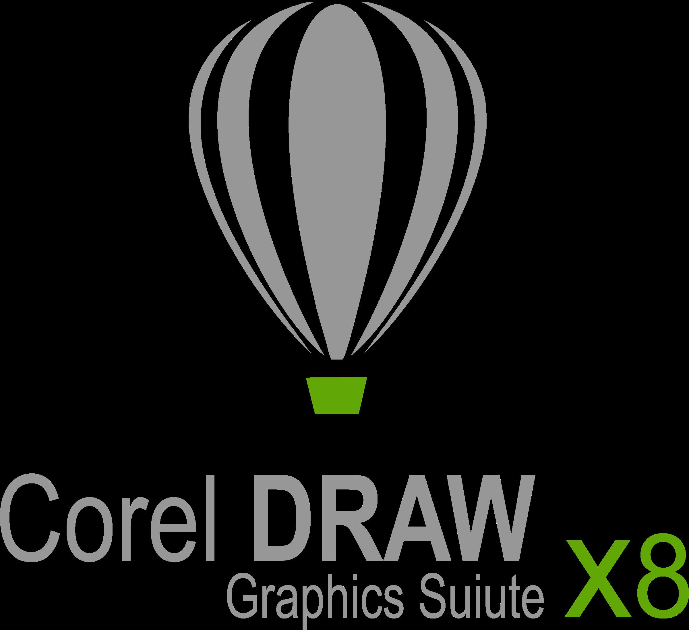 Corel DRAW X8 Logo PNG Transparent & SVG Vector.