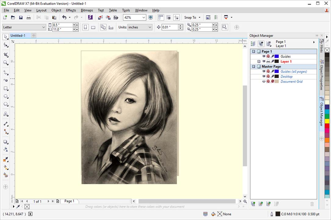 CorelDraw Graphics Suite X7 Free Download Full Version (32Bit.