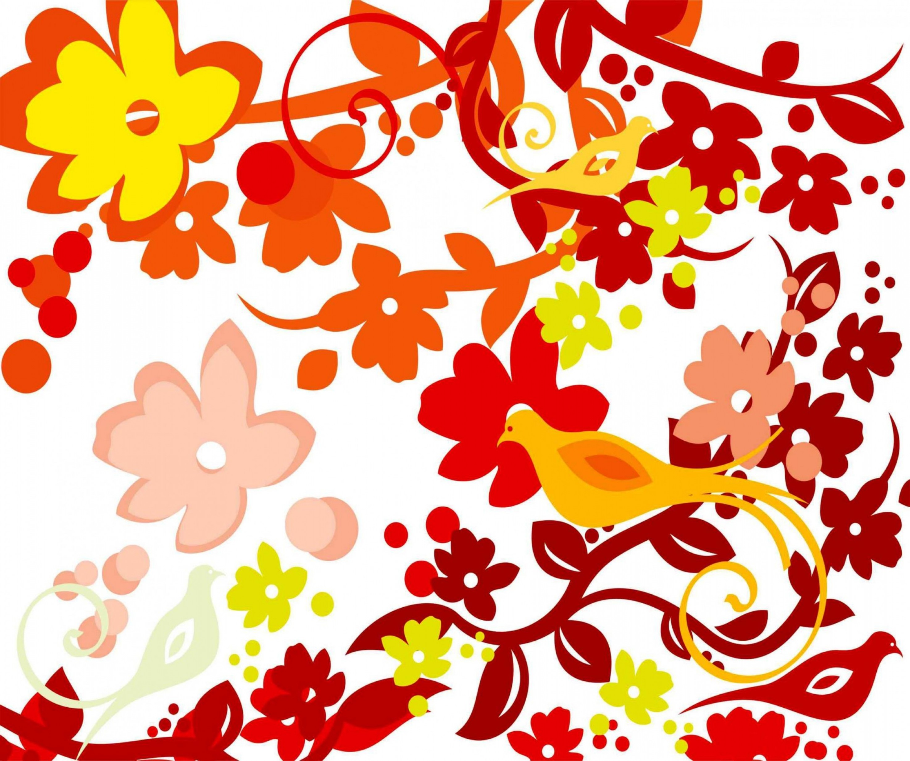 Vector Floral Pattern Cdr File Download Coreldraw.