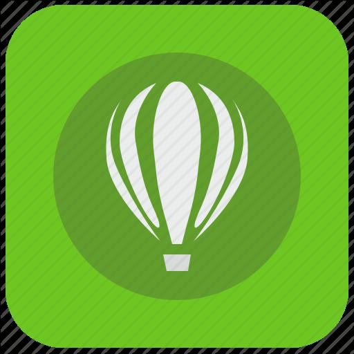 Icon Corel Png Vector, Clipart, PSD.