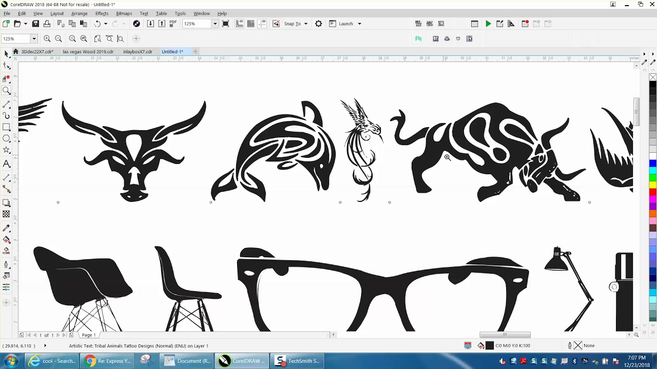 Corel Draw Tips & Tricks Clipart that are FONTS.