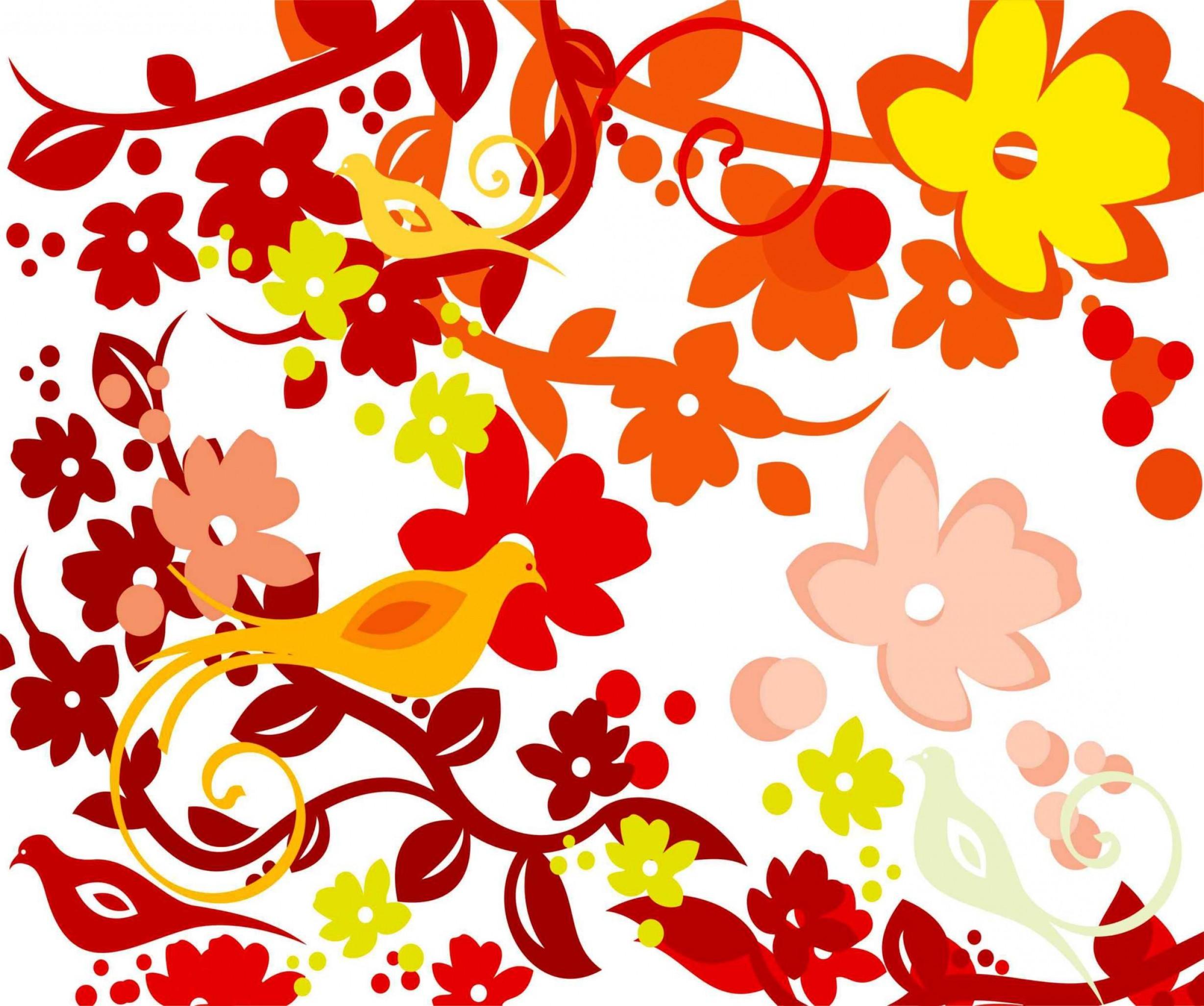 Vector Floral Pattern Cdr File Download Coreldraw.