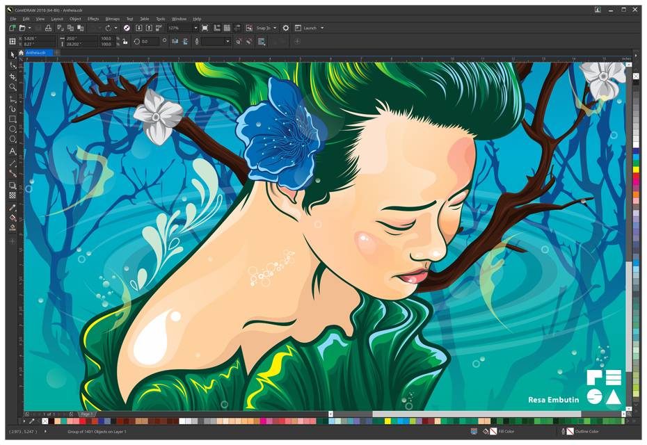 Corel Releases CorelDRAW Graphics Suite 2018.
