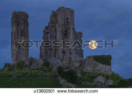 Stock Photography of England, Dorset, Corfe. A view of the Super.
