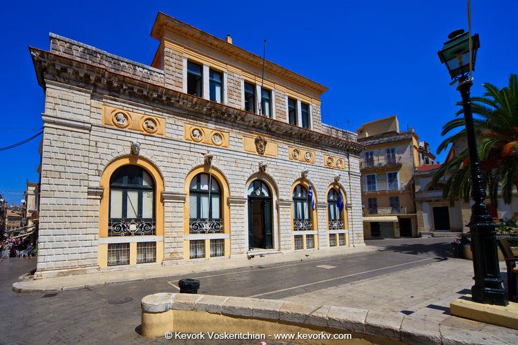History In Corfu.
