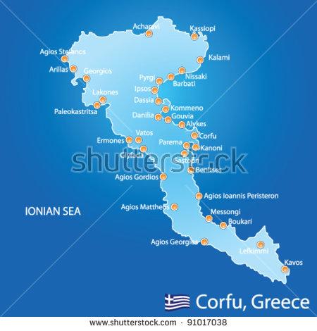 Corfu Town Stock Vectors & Vector Clip Art.