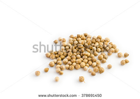 Coriander Seed Stock Photos, Royalty.