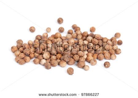 Coriander Seeds Stock Photos, Royalty.