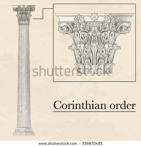 Corinthian Stock Photos, Royalty.