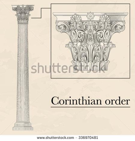 Corinthian Stock Photos, Royalty.