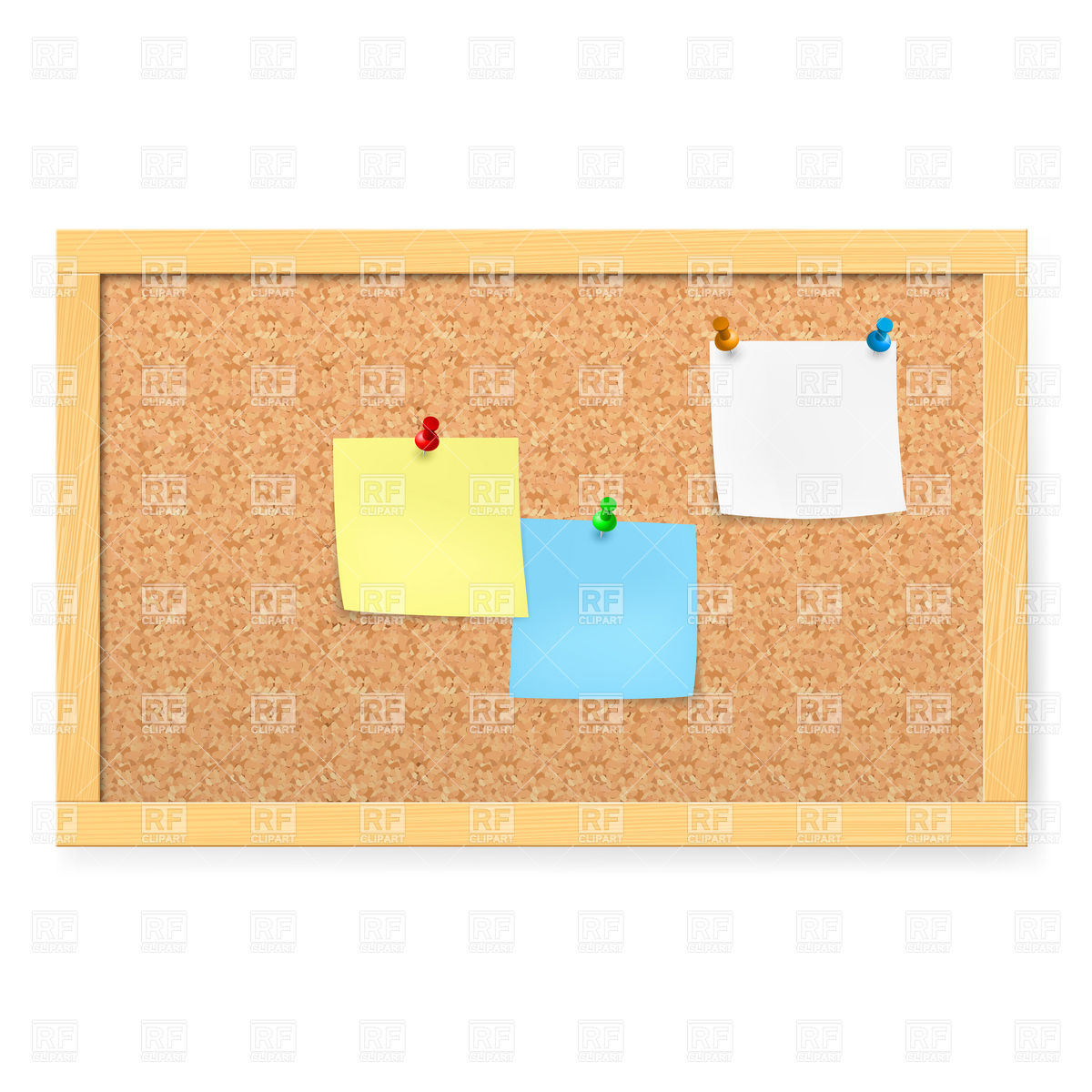 Cork board texture background Vector Image #9360.