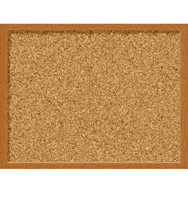 Cork board clipart.