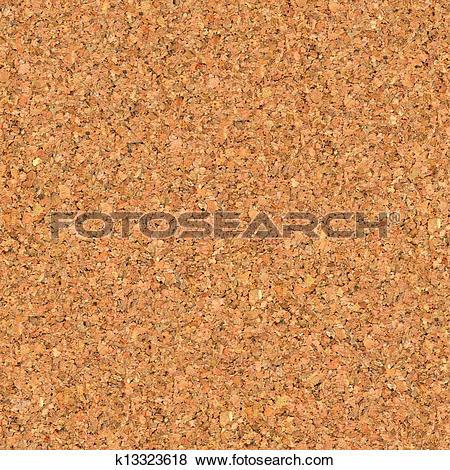 Stock Illustration of Cork Board. Seamless Texture. k13323618.