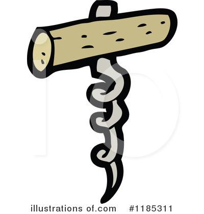 Corkscrew Clipart #1185311.