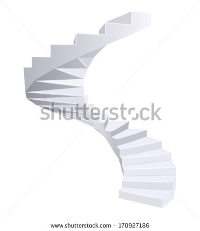 Corkscrew Staircase Stock Photos, Royalty.