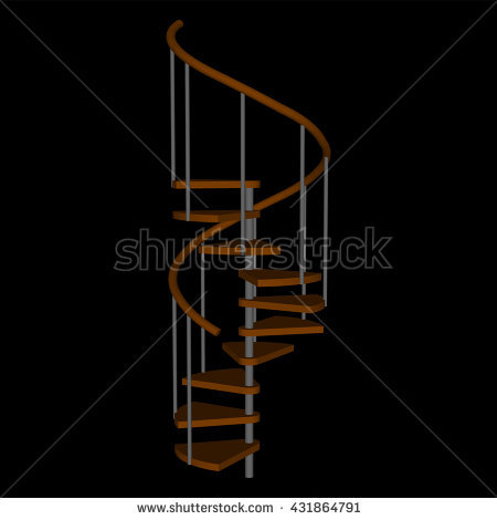 "corkscrew Stairs"" Stock Photos, Royalty."