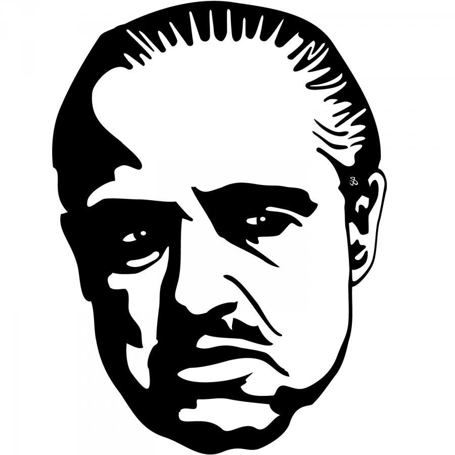 Don vito corleone clipart.