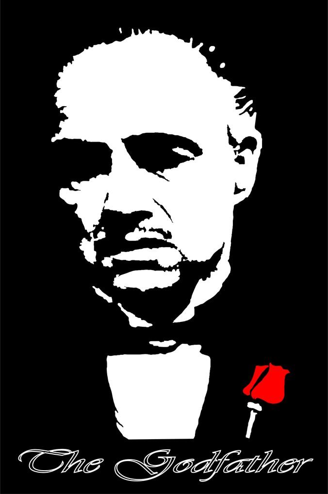 Godfather Marlon Brando, Vectors.
