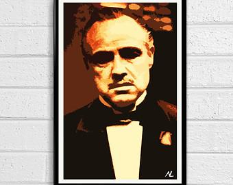 Vito corleone clipart.