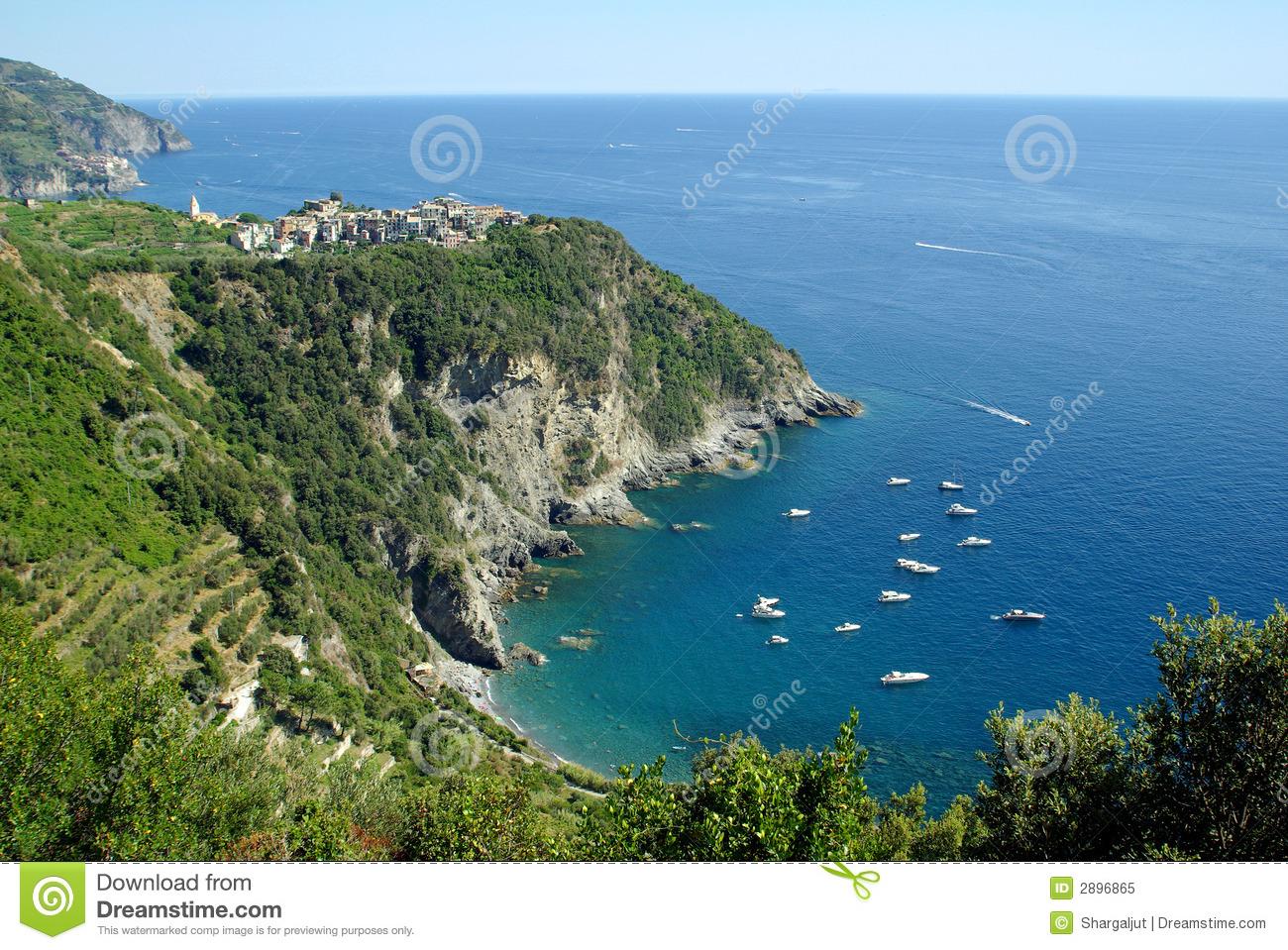 Corniglia, Cinque Terre, Italy Royalty Free Stock Photo.