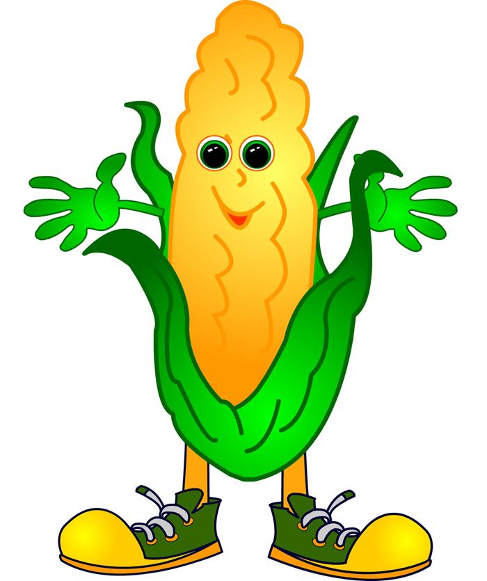 Maize cultivation clipart #10