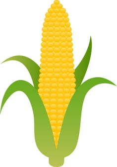Corn on the Cob Clip Art.
