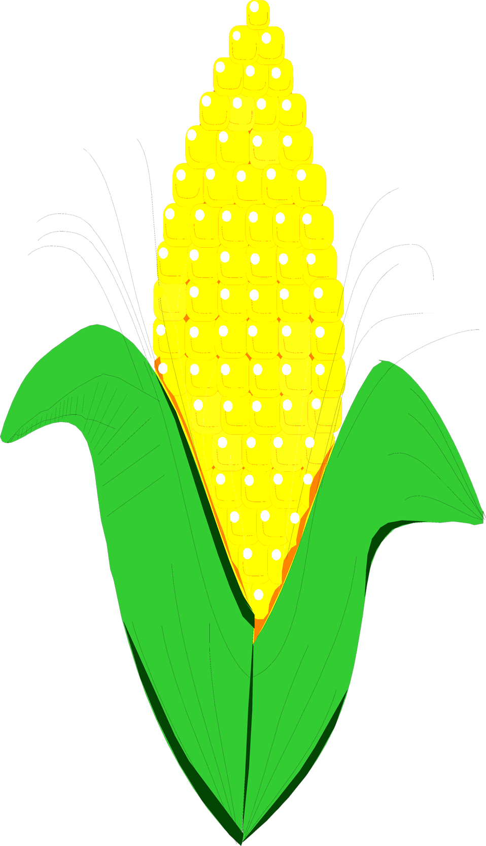 Corn Stock Clipart.