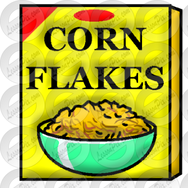 Corn Flakes Picture for Classroom / Therapy Use.