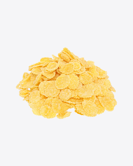 Download Corn Flakes Bulk Transparent PNG on Yellow Images 360°.