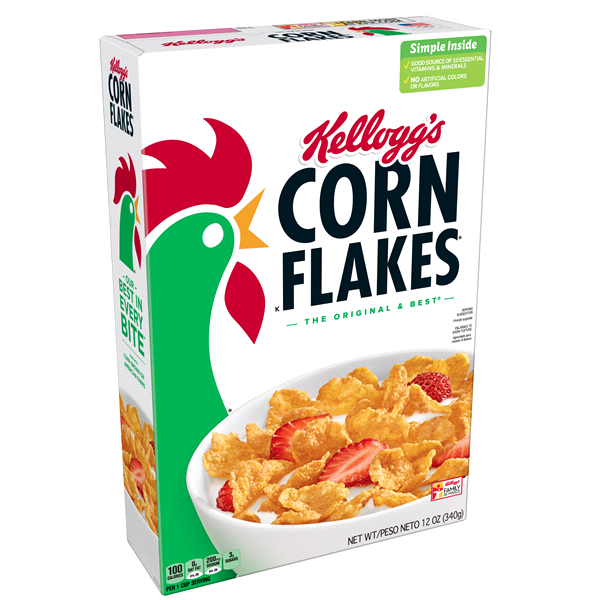 Kellogg's Corn Flakes Cereal, 12 oz.