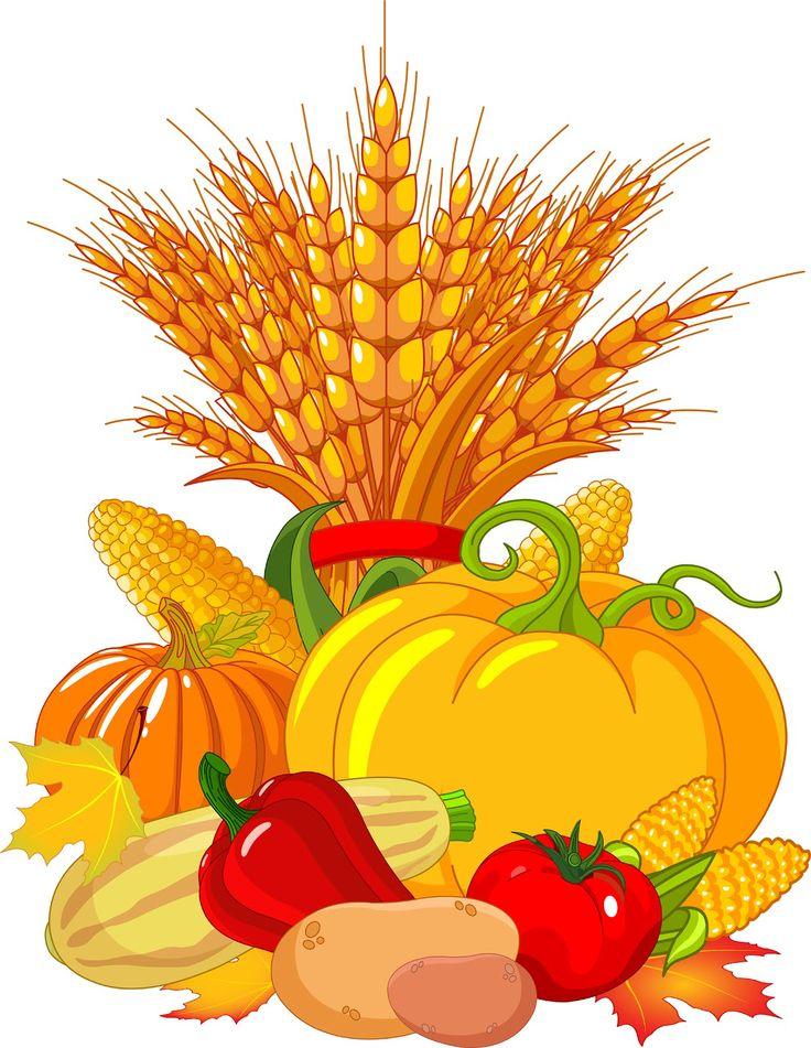 Autumn corn clip art.
