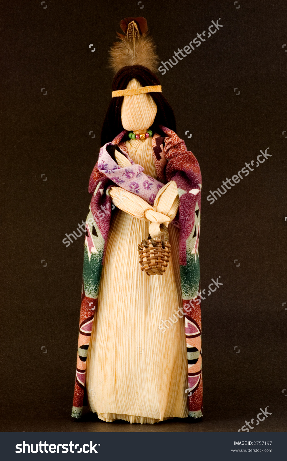 Native Mother And Baby Corn Husk Doll Stock Photo 2757197.